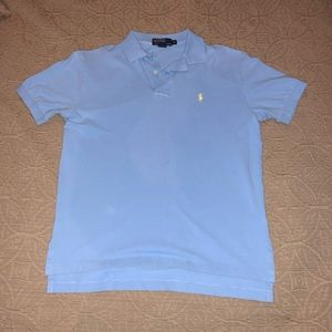 Blue Polo Size Medium